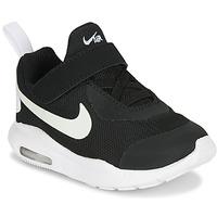 Topánky Deti Nízke tenisky Nike AIR MAX OKETO TD Čierna / Biela