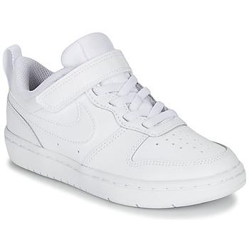 Topánky Deti Nízke tenisky Nike COURT BOROUGH LOW 2 PS Biela