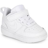 Topánky Deti Nízke tenisky Nike COURT BOROUGH LOW 2 TD Biela