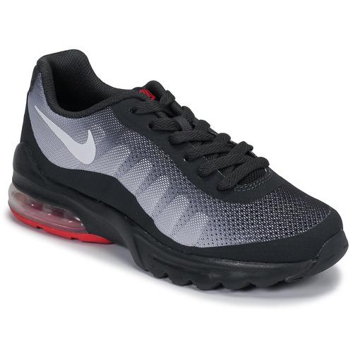 Topánky Deti Nízke tenisky Nike AIR MAX INVIGOR GS Čierna / Červená