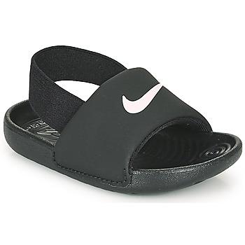 Topánky Deti športové šľapky Nike KAWA TD Čierna