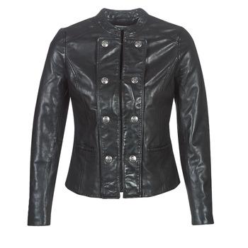 Oblečenie Ženy Kožené bundy a syntetické bundy Naf Naf CMILI Čierna