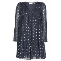 Oblečenie Ženy Krátke šaty Naf Naf FOIL Námornícka modrá