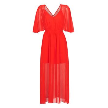 Oblečenie Ženy Dlhé šaty Naf Naf CAMILLE R1 Červená
