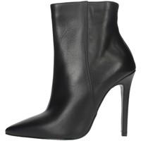 Topánky Ženy Čižmičky Elena Del Chio 6193 Black