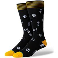 Textilné doplnky Muži Ponožky Stance Robot peace Čierna