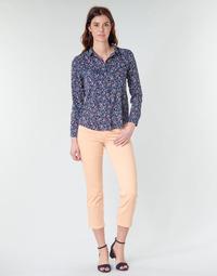 Oblečenie Ženy Nohavice päťvreckové Freeman T.Porter LOREEN NEW MAGIC COLOR Koralová / ružová