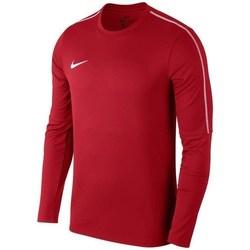 Oblečenie Muži Mikiny Nike Park 18 Crew Top Training Červená
