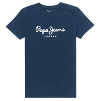 Oblečenie Chlapci Tričká s krátkym rukávom Pepe jeans ART Námornícka modrá