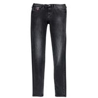 Oblečenie Dievčatá Džínsy Slim Pepe jeans PAULETTE Čierna