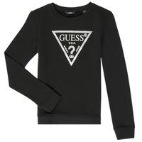 Oblečenie Dievčatá Mikiny Guess GABOR Čierna