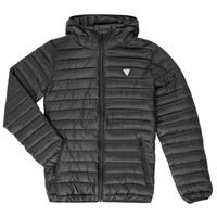 Oblečenie Deti Vyteplené bundy Guess HILARY Čierna