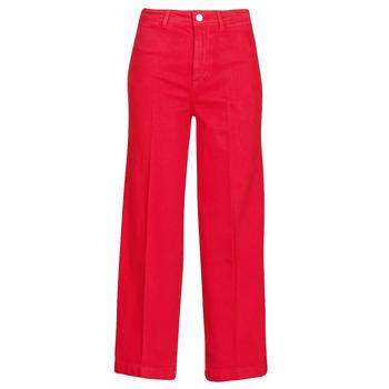 Oblečenie Ženy Džínsy Bootcut Tommy Hilfiger BELL BOTTOM HW CCLR Červená