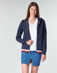 Oblečenie Ženy Mikiny Tommy Hilfiger HERITAGE ZIP THROUGH HOODIE Námornícka modrá