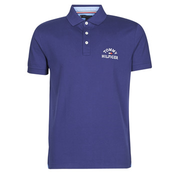 Oblečenie Muži Polokošele s krátkym rukávom Tommy Hilfiger ARCH ARTWORK REGULAR POLO Námornícka modrá