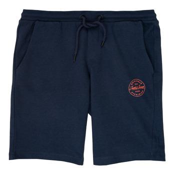 Oblečenie Chlapci Šortky a bermudy Jack & Jones JJISHARK Námornícka modrá