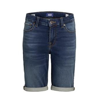 Oblečenie Chlapci Šortky a bermudy Jack & Jones JJIRICK Modrá