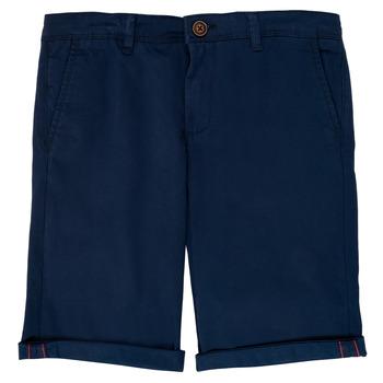 Oblečenie Chlapci Šortky a bermudy Jack & Jones JJIBOWIE Námornícka modrá