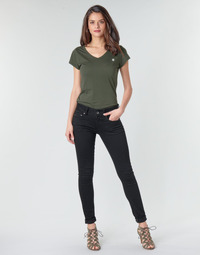 Oblečenie Ženy Rifle Skinny  G-Star Raw MIDGE CODY MID SKINNY WMN Čierna