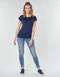 Oblečenie Ženy Rifle Skinny  G-Star Raw MIDGE ZIP MID SKINNY WMN Modrá
