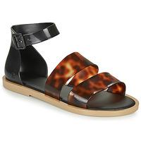 Topánky Ženy Sandále Melissa MODEL SANDAL Čierna / Leopard