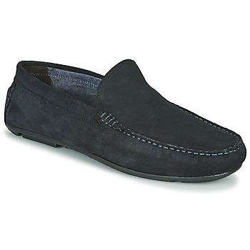 Topánky Muži Mokasíny André BIOUTY Námornícka modrá