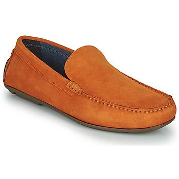 Topánky Muži Mokasíny André BIOUTY Oranžová