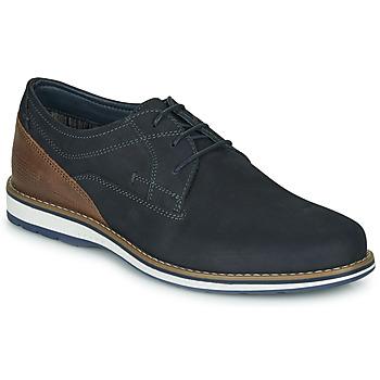 Topánky Muži Derbie André LINOS Námornícka modrá