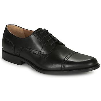 Topánky Muži Derbie André LORDMAN Čierna