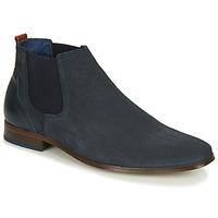 Topánky Muži Derbie André WALOU Námornícka modrá