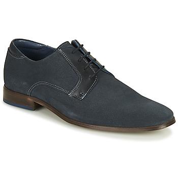 Topánky Muži Derbie André WARREN Námornícka modrá