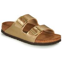 Topánky Ženy Šľapky Birkenstock ARIZONA Zlatá