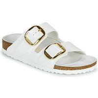 Topánky Ženy Šľapky Birkenstock ARIZONA BIG BUCKLE Biela / Zlatá