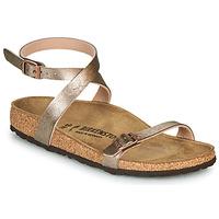 Topánky Ženy Sandále Birkenstock DALOA Bronzová