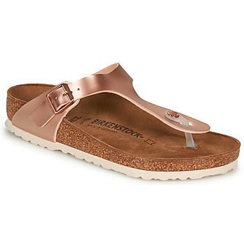 Topánky Ženy Žabky Birkenstock GIZEH Ružová / Zlatá