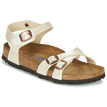 Topánky Ženy Sandále Birkenstock KUMBA SFB Béžová