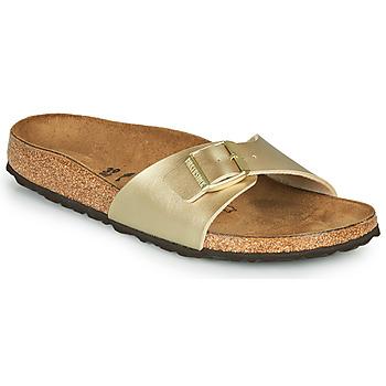 Topánky Ženy Šľapky Birkenstock MADRID Zlatá / Zlatá
