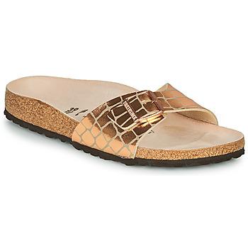 Topánky Ženy Šľapky Birkenstock MADRID Zlatá