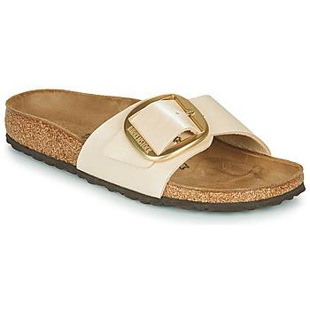 Topánky Ženy Šľapky Birkenstock MADRID BIG BUCKLE Graceful / Pearl / Biela