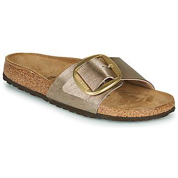 Topánky Ženy Šľapky Birkenstock MADRID BIG BUCKLE Graceful / Hnedošedá / Bronzová