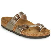 Topánky Ženy Šľapky Birkenstock MAYARI Bronzová