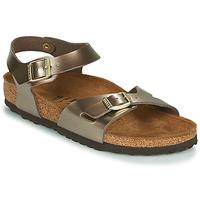 Topánky Ženy Sandále Birkenstock RIO Bronzová