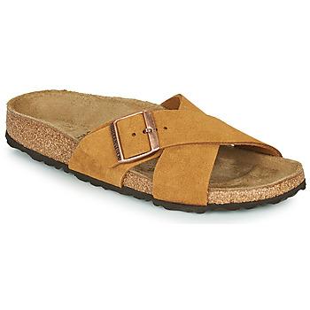 Topánky Ženy Šľapky Birkenstock SIENA LEATHER Ťavia hnedá