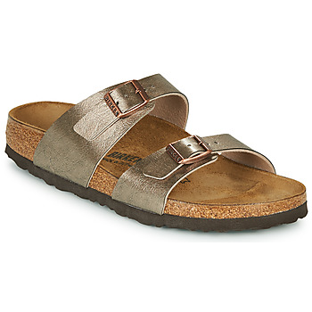 Topánky Ženy Šľapky Birkenstock SYDNEY Bronzová