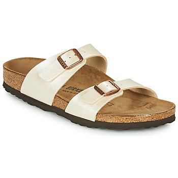 Topánky Ženy Šľapky Birkenstock SYDNEY Svetlá telová