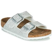 Topánky Dievčatá Šľapky Birkenstock ARIZONA Cosmic / Sparkle / Biela