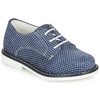 Topánky Dievčatá Derbie André KYLIE Námornícka modrá