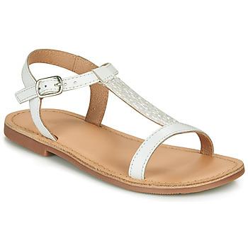 Topánky Dievčatá Sandále André ASTRID Biela