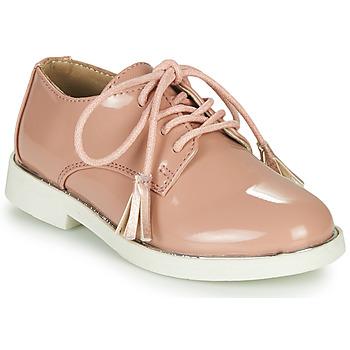 Topánky Dievčatá Derbie André ROSINE Ružová