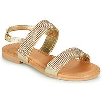 Topánky Dievčatá Sandále André DORIANNE Zlatá